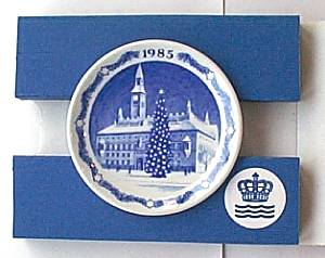 ロイヤルコペンハーゲン プラケット(ミニプレート) 1985