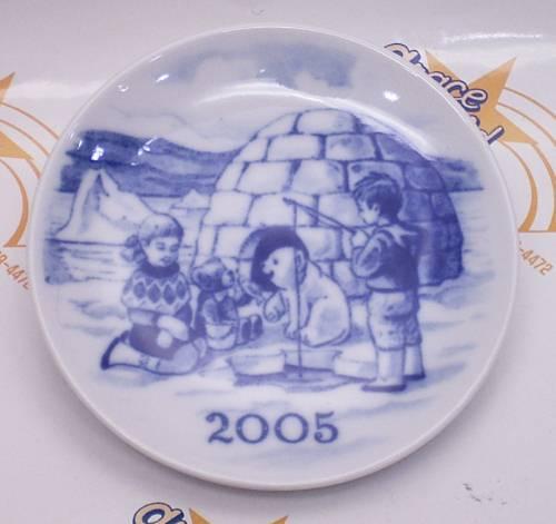 ロイヤルコペンハーゲン ミレニアムプラケット 2005年の画像