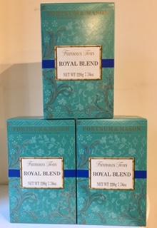 フォートナム&メイソン紅茶 ロイヤルブレンド 220g紙箱のイメージ画像