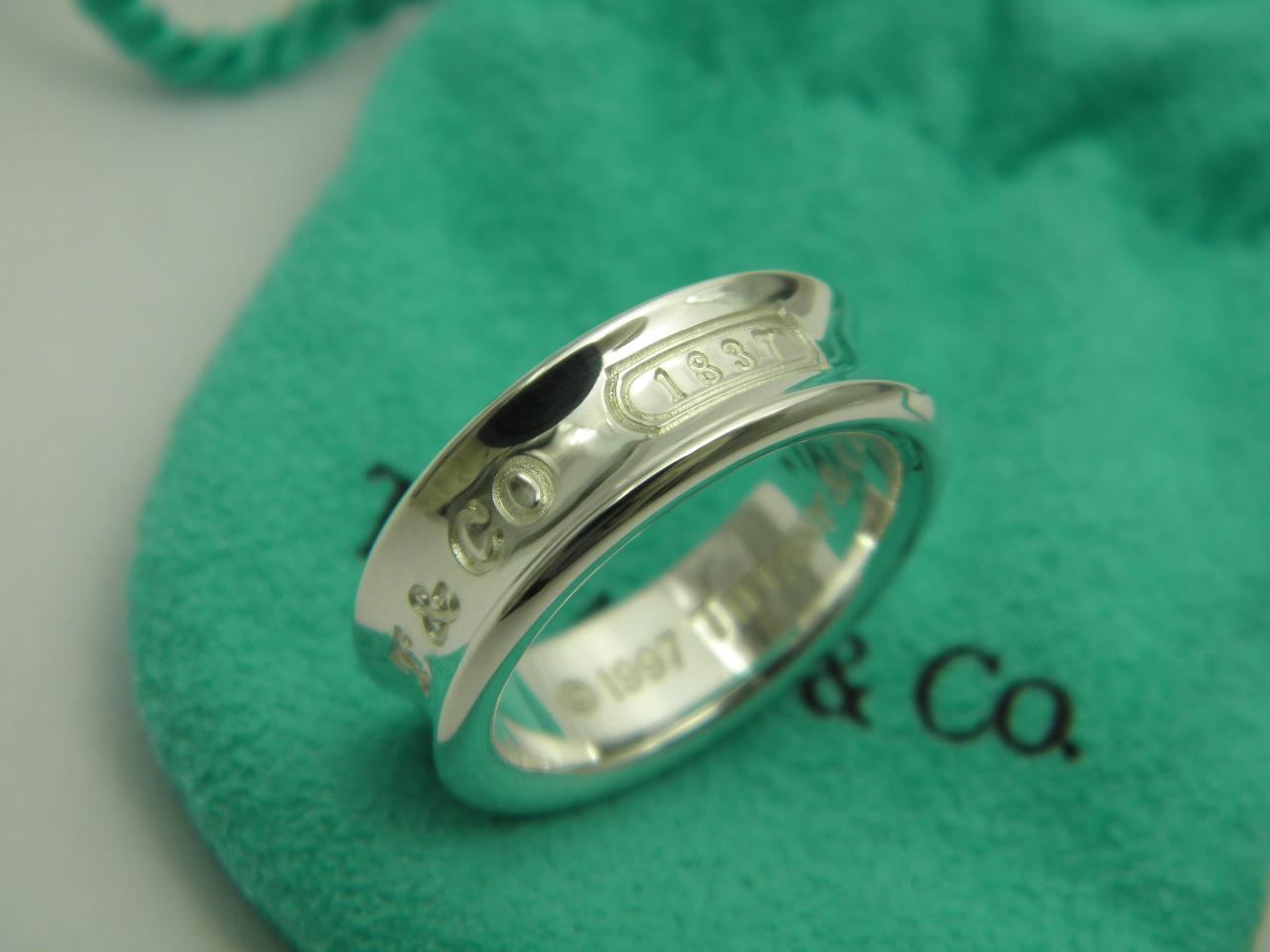 ティファニー 1837 リング・指輪 シルバー
