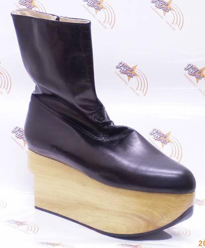 ヴィヴィアンウエストウッド ロッキンホース ブーツ ブラック・キッドレザー