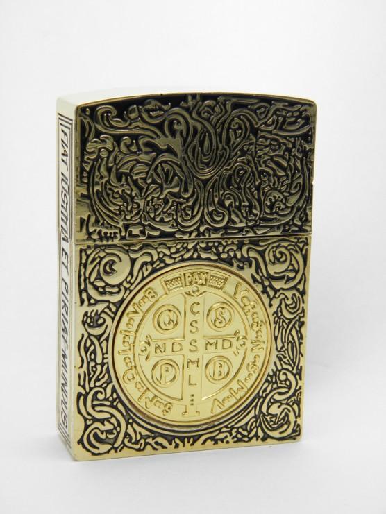 コンスタンティン Zippo ムービーサイズ 金メッキ、ゴールドクロスコイン