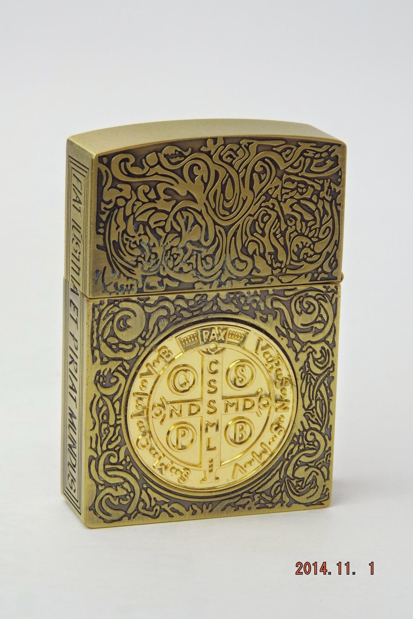 コンスタンティン Zippo ムービーサイズ ゴールドクロスコイン