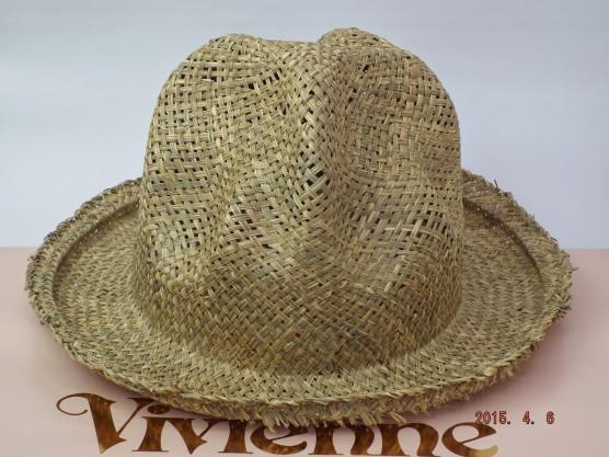 ヴィヴィアンウエストウッド ワールズエンド マウンテンハット ストロー(麦藁帽子)