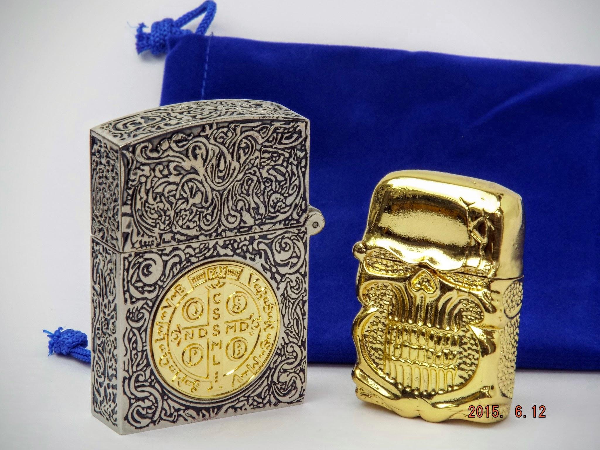 コンスタンティン ムービーサイズZippo 6面彫り 銀色コイン違い