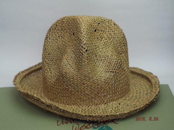 ヴィヴィアンウエストウッド ワールズエンド ストロー マウンテンハット(麦藁帽子)