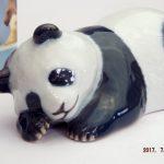 Royal Copenhagen Giant Panda Cub Sleeping 665