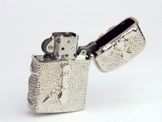 ゴーストライダー 3Dスカル ZIPPOライター