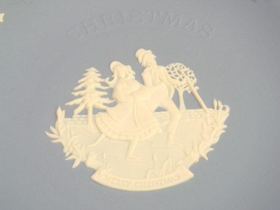 ウエッジウッド ジャスパー クリスマスプレート 2008年